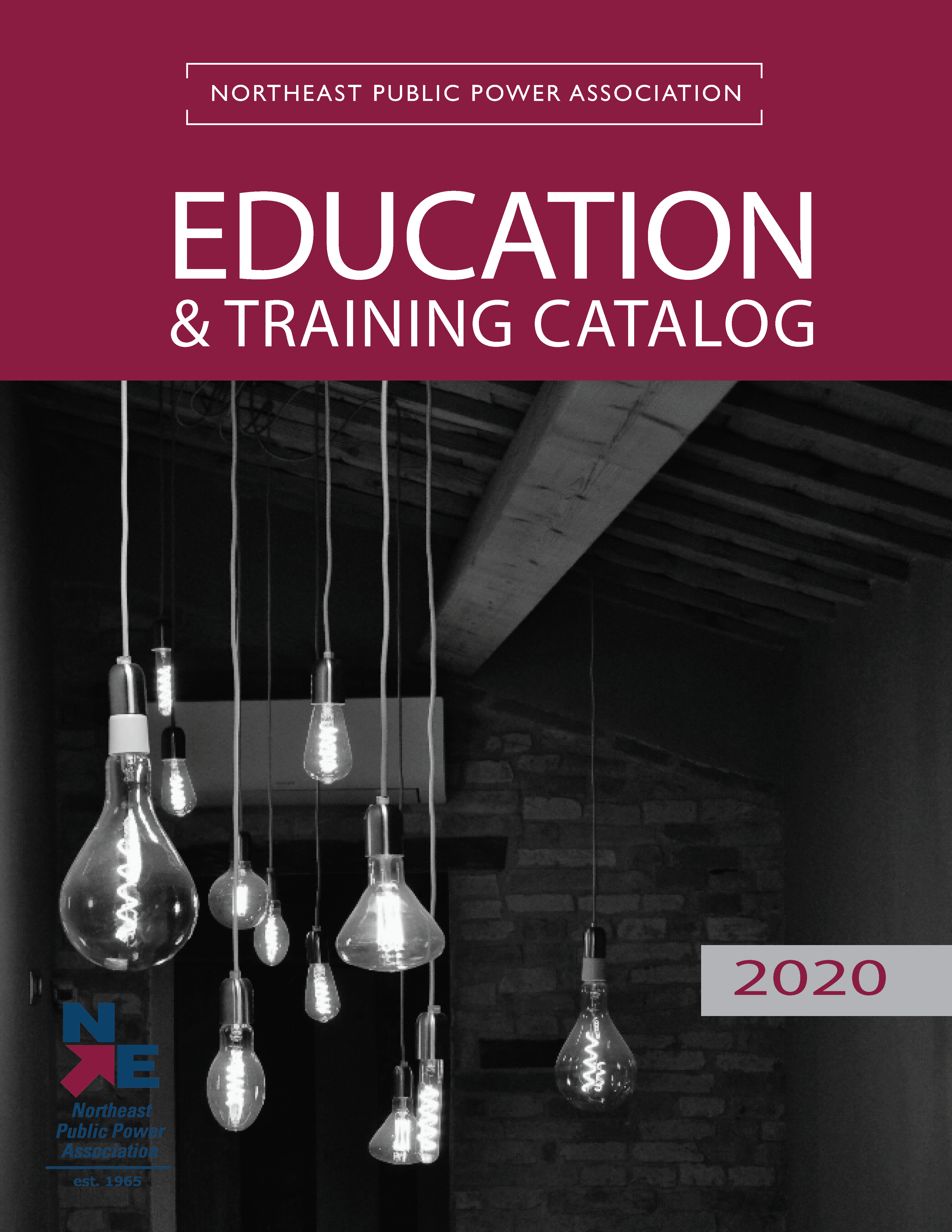 2019 NEPPA Education Training Catalog Cover